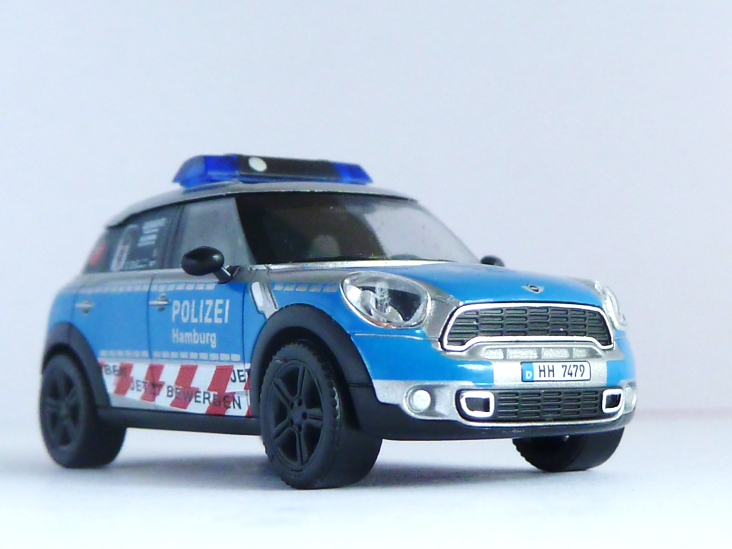 bmw mini cooper countryman polizei hamburg version 1 hh 7479 polizeimodelle. Black Bedroom Furniture Sets. Home Design Ideas