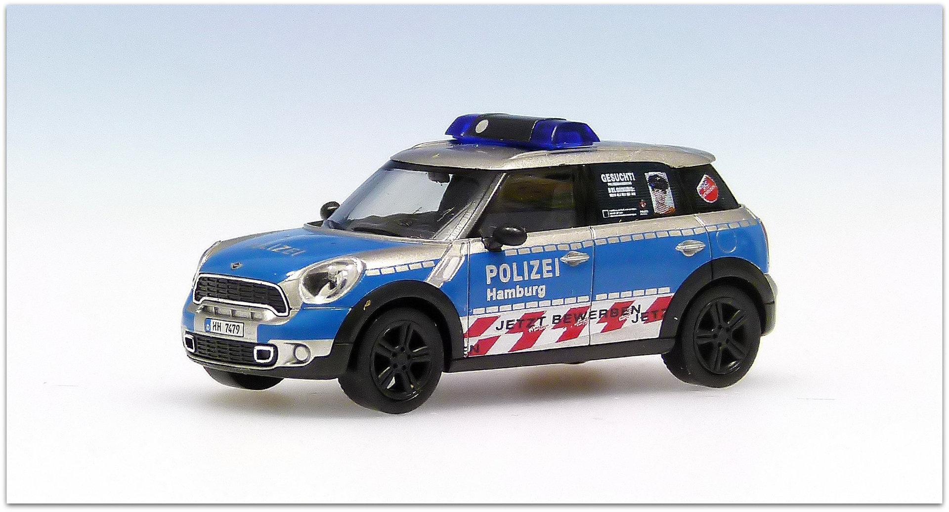bmw mini cooper countryman polizei hamburg version 1 hh 7479 - Bewerbung Polizei Hamburg