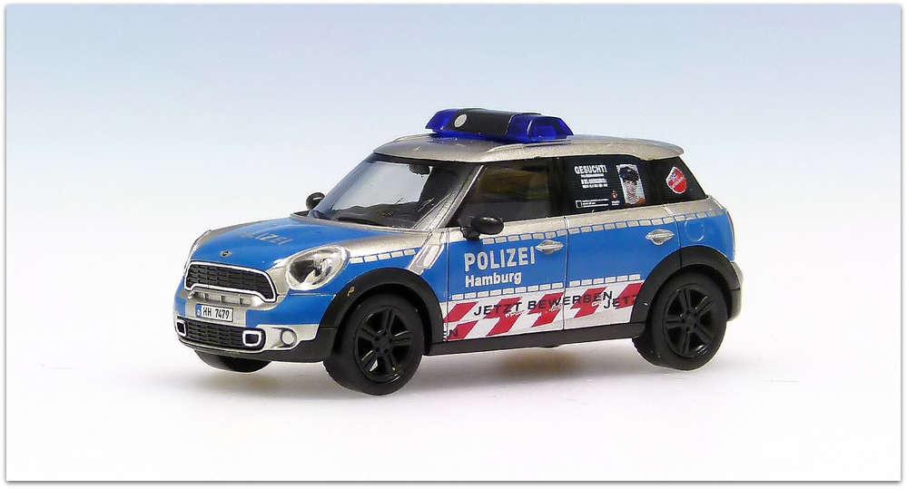 bmw mini cooper countryman polizei hamburg version 1 hh 7479 - Polizei Hamburg Bewerbung