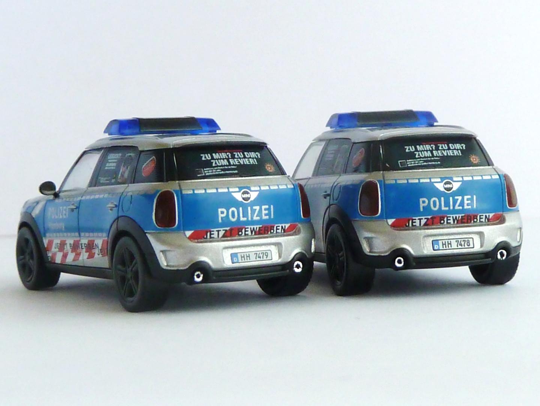Bmw Mini Cooper Countryman Polizei Hamburg Version 1 Hh 7479